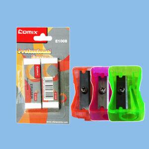 Eraser and Pencil Sharpener