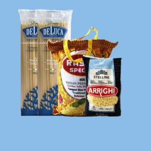 المعكرونة ، السباغيتي ، والأرز