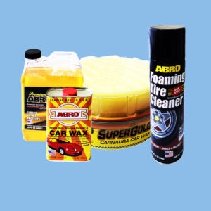 Car Cleaning Materials